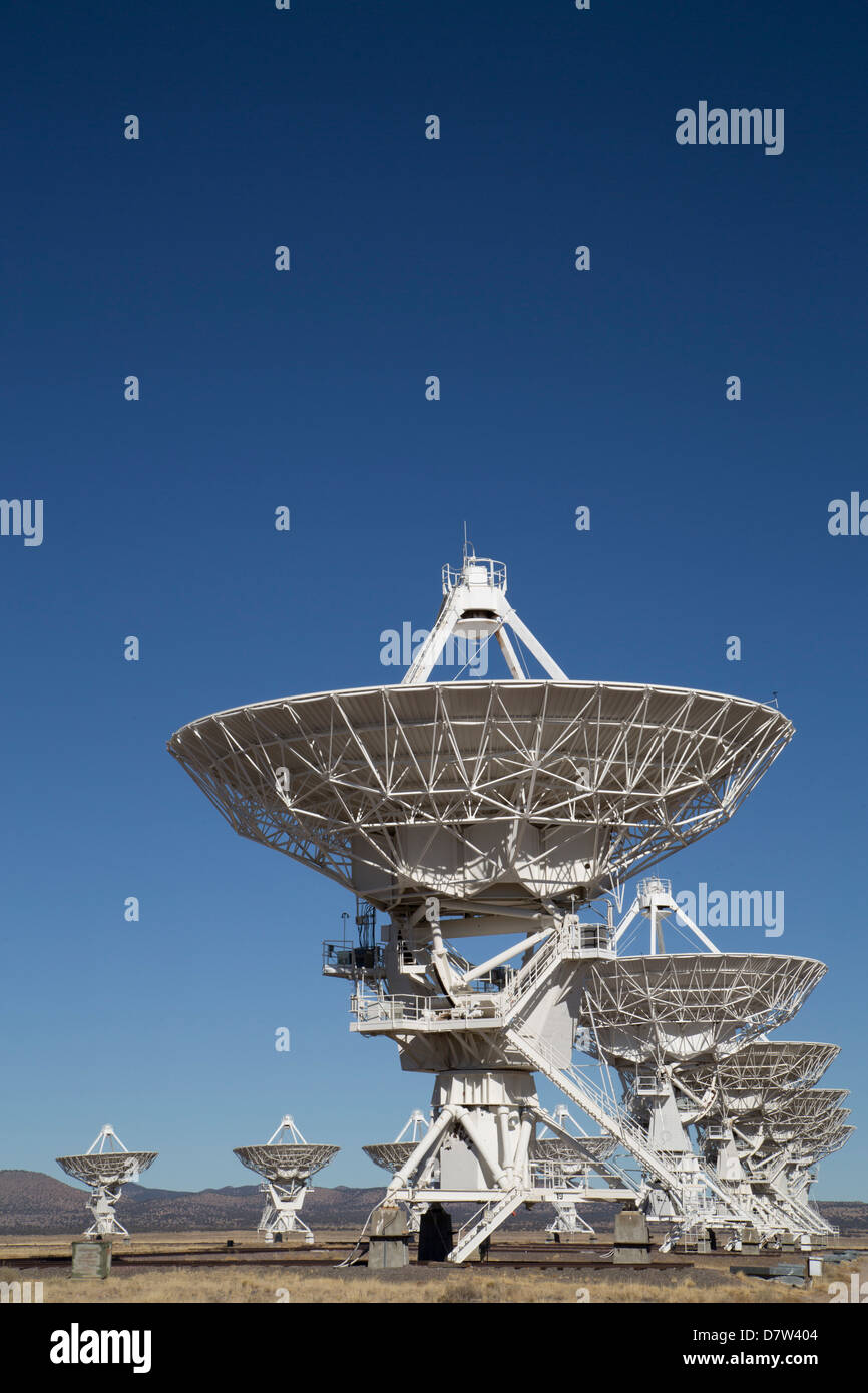 The Very Large Array, New Mexico, USA - Stock Image
