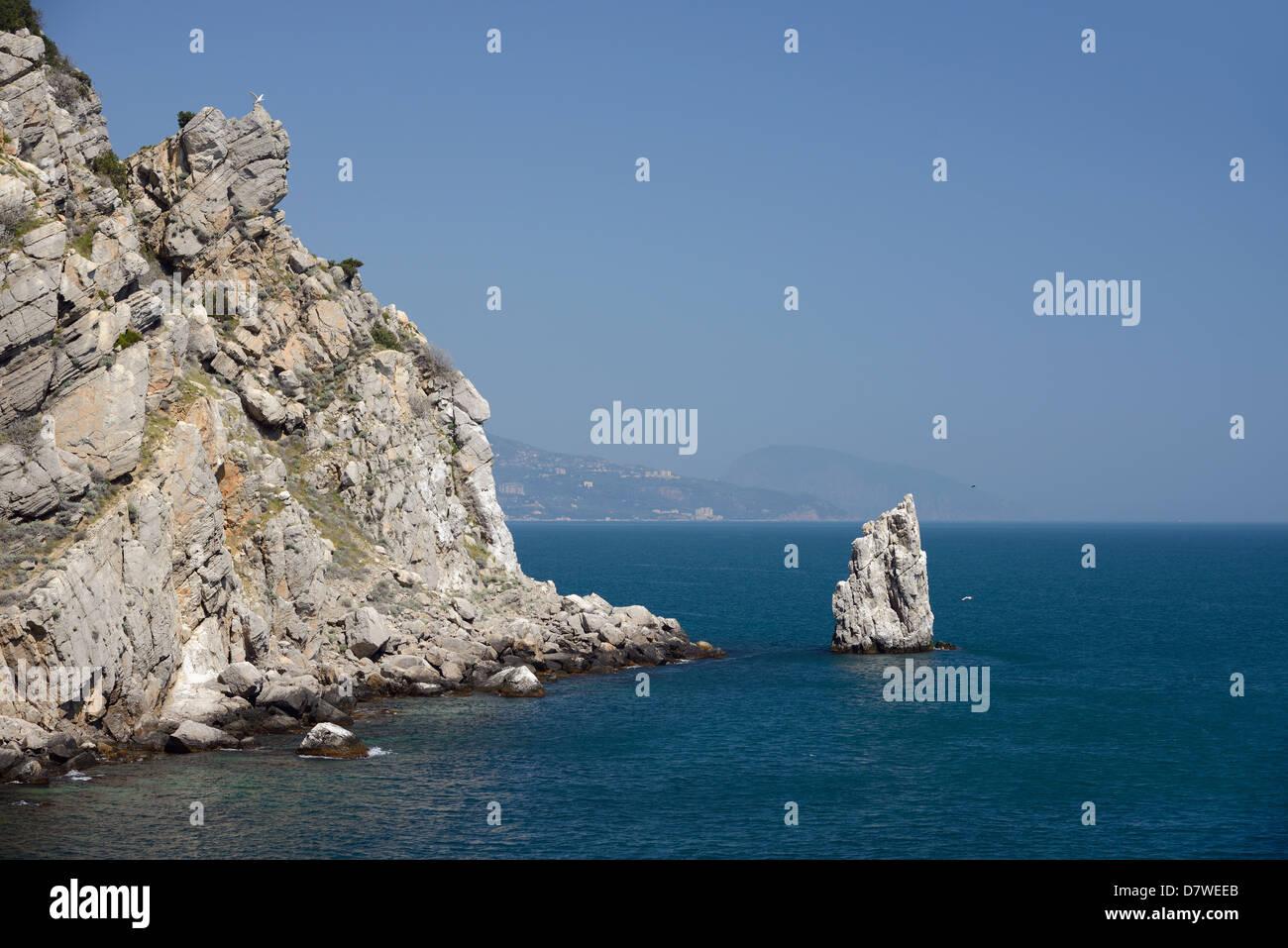 Ai-Todor Cape, near Yalta, Crimea, Ukraine - Stock Image