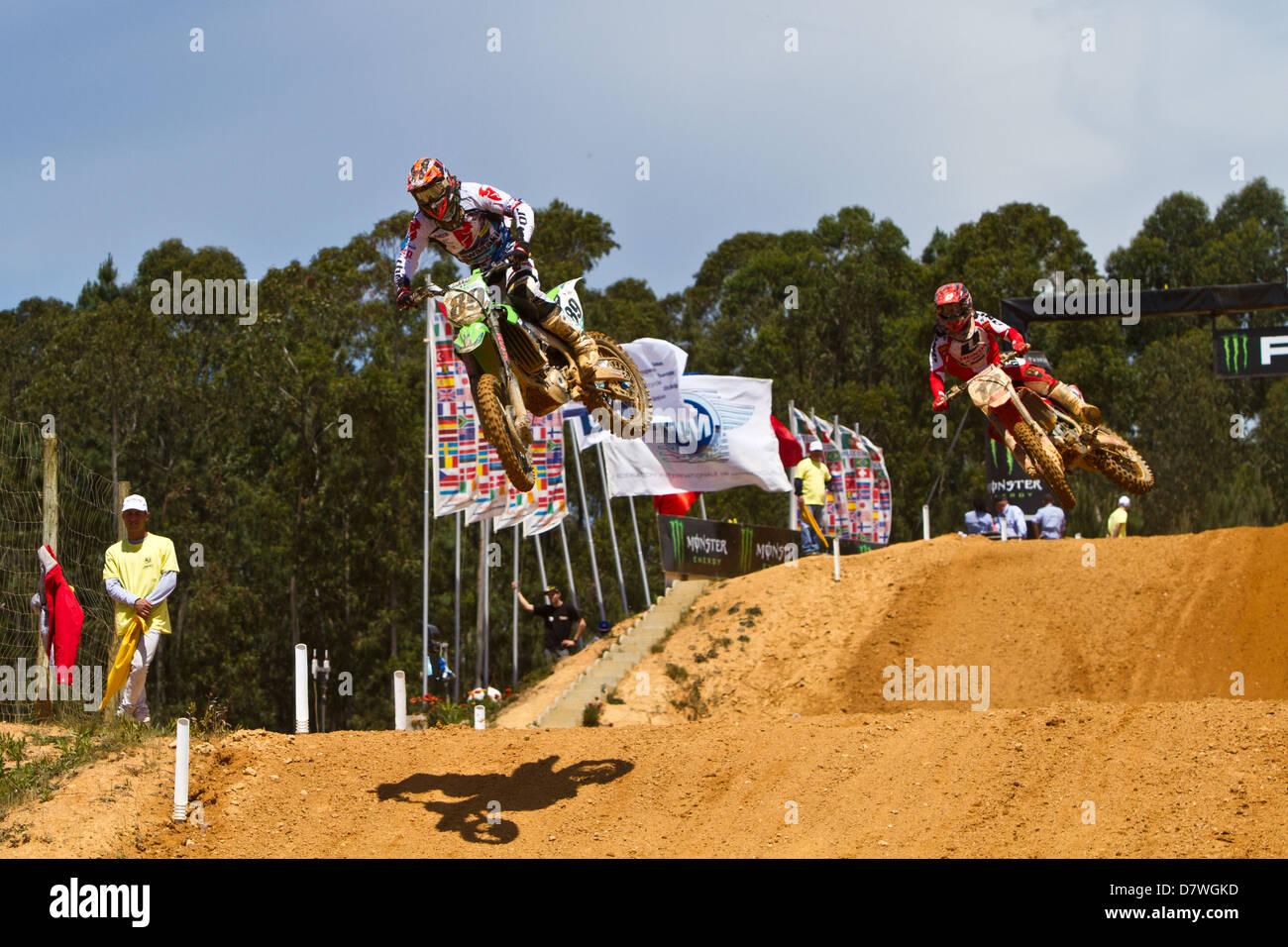 Jeremy Van Horebeek Belgian MX1 racer - Stock Image