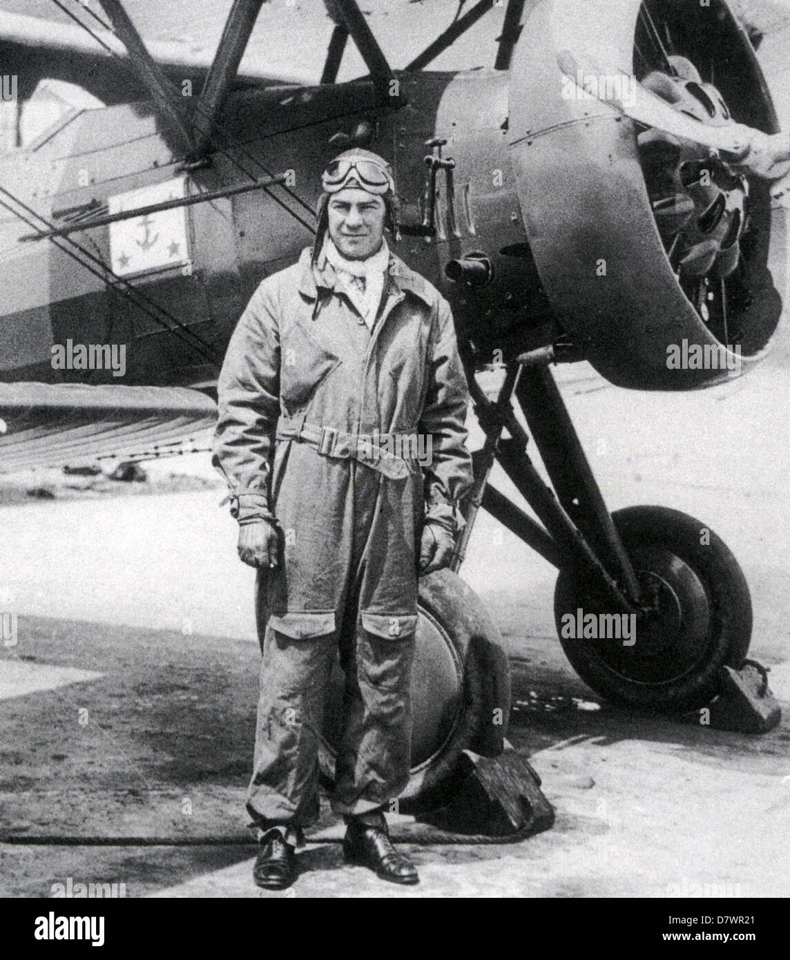 DAVID SINTON INGALLS (1899-1985) US WW1 flying ace here as Assistant Secretary of the US Navy about 1930 - Stock Image