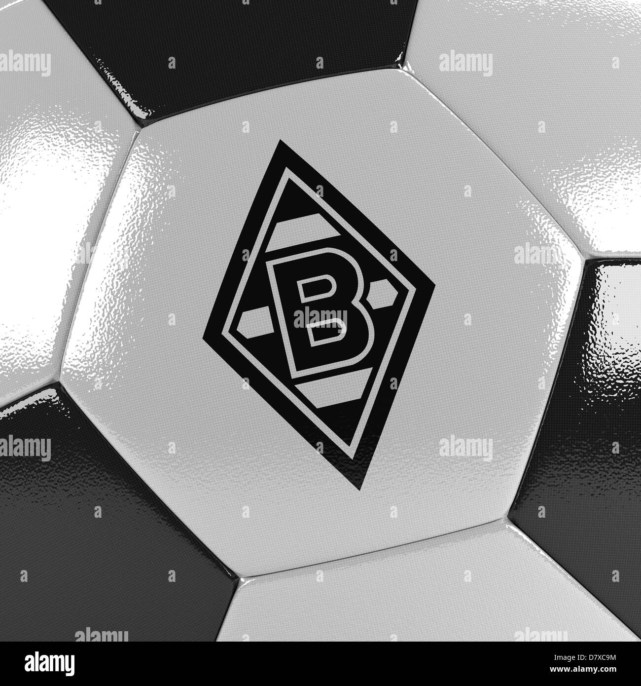 VfL Borussia Mönchengladbach close up - Stock Image