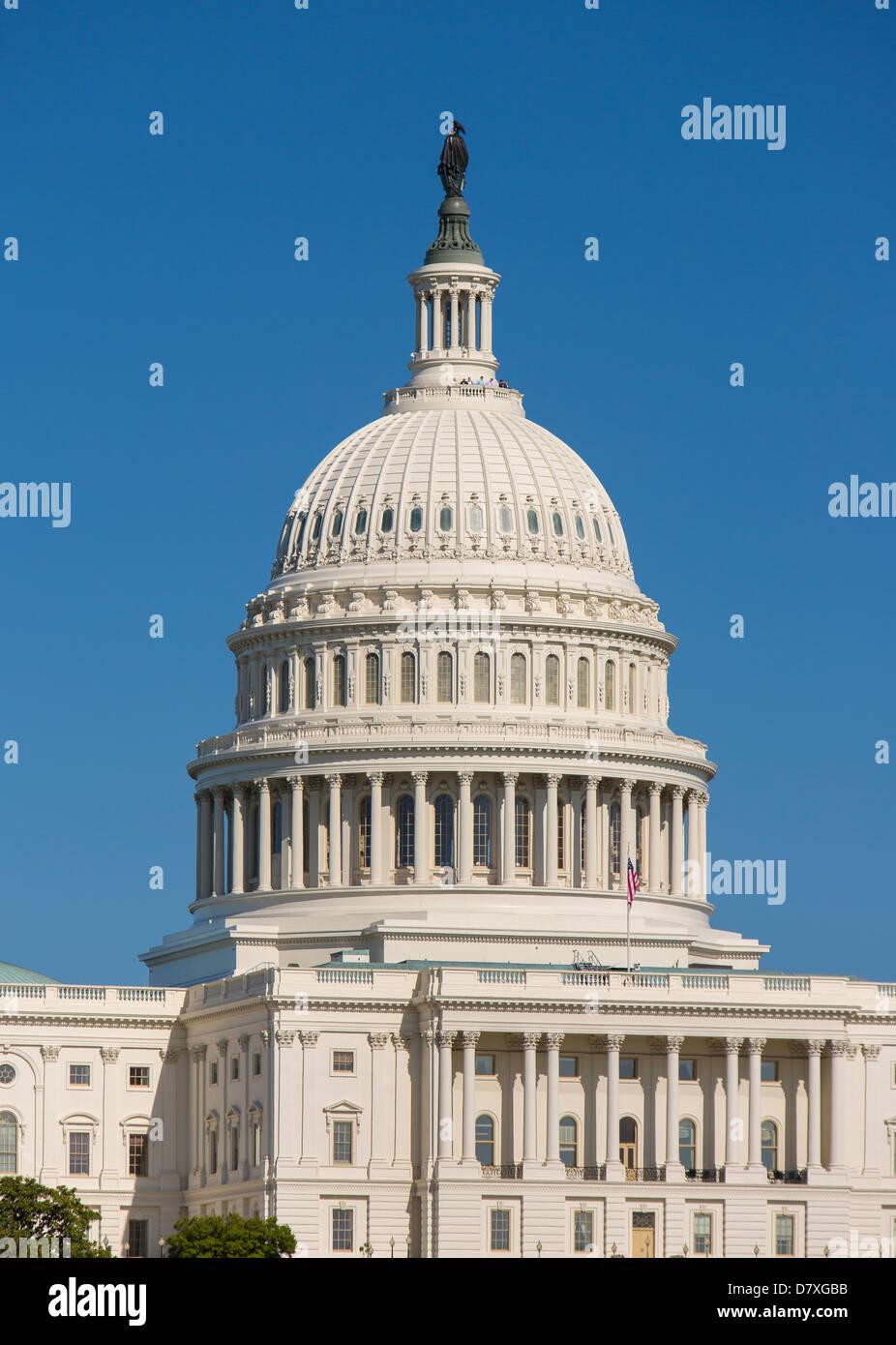 WASHINGTON, DC, USA - United States Capitol building. - Stock Image