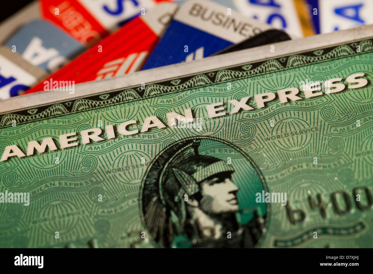 American Express credit card - Stock Image