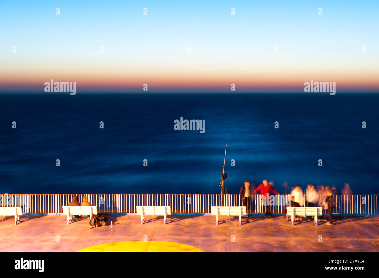 deck ferry wake stock photos deck ferry wake stock images alamy. Black Bedroom Furniture Sets. Home Design Ideas
