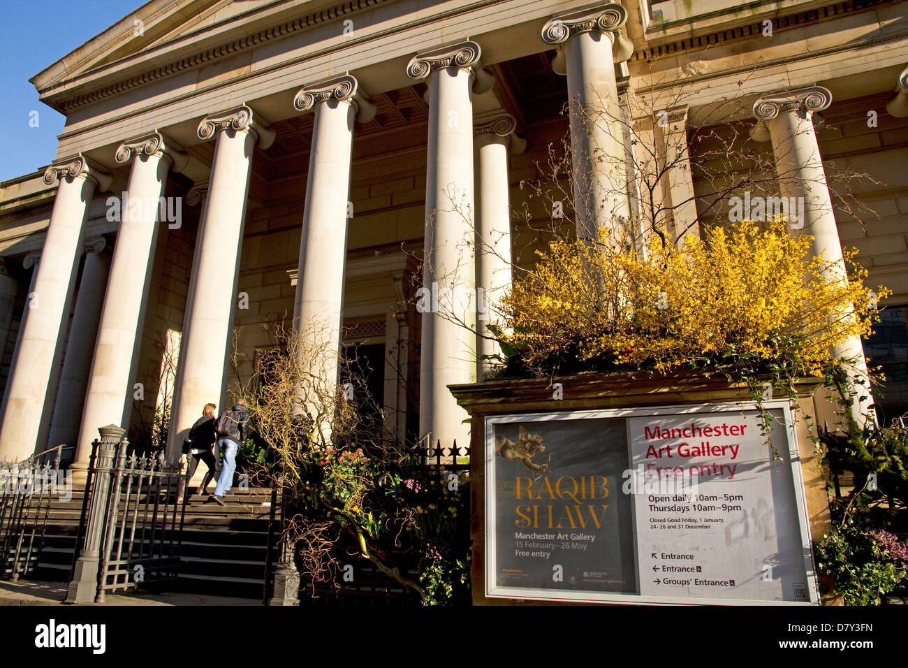 Manchester Art Gallery (formerly Manchester City Art Gallery), Mosley Street, city centre, Manchester, England, - Stock Image