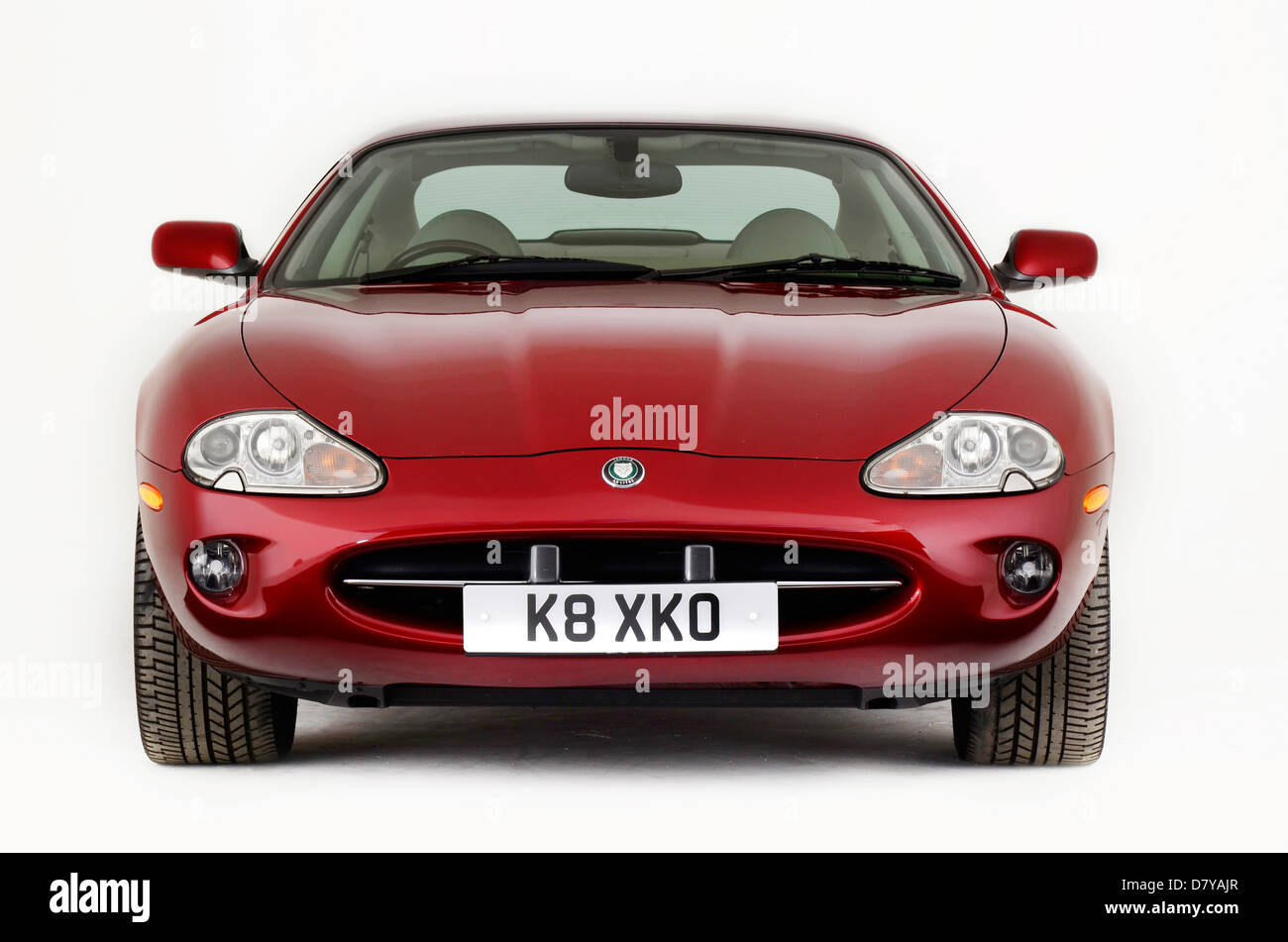 1999 Jaguar XK8 Coupe - Stock Image
