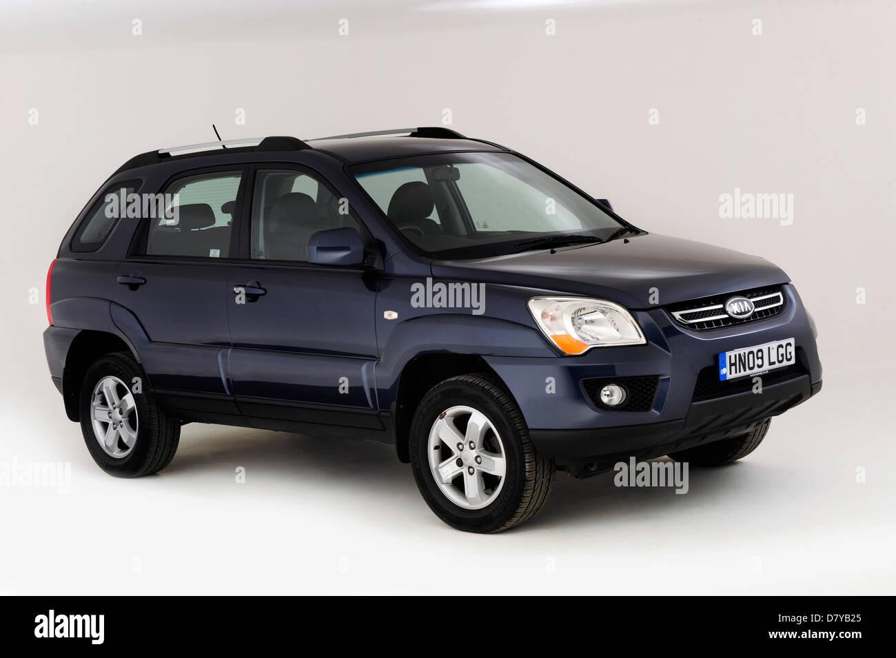2009 Kia Sportage - Stock Image