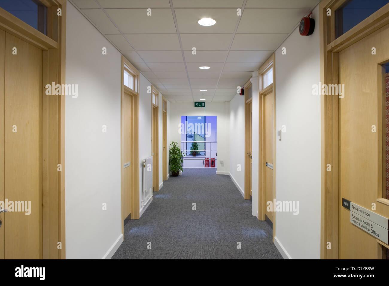 Architecture College Contemporary Corridor Design