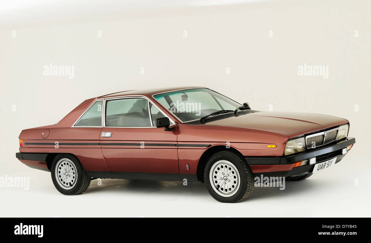 1982 Lancia Gamma IE - Stock Image