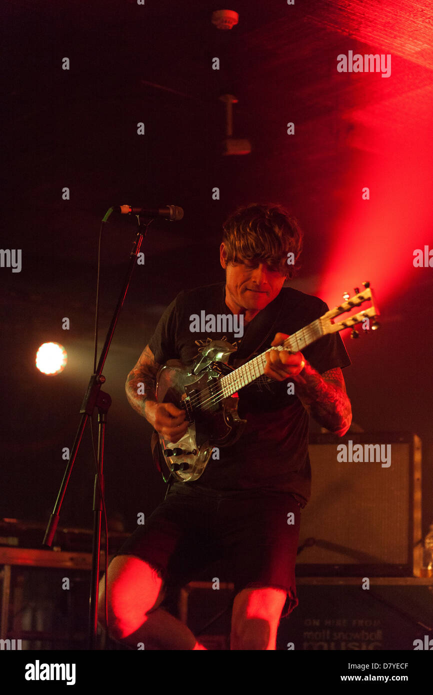 Thee Oh Sees performing at All Tomorrows Parties Festival, Pontins, Camber Sands, West Sussex, England, United Kingdom. - Stock Image