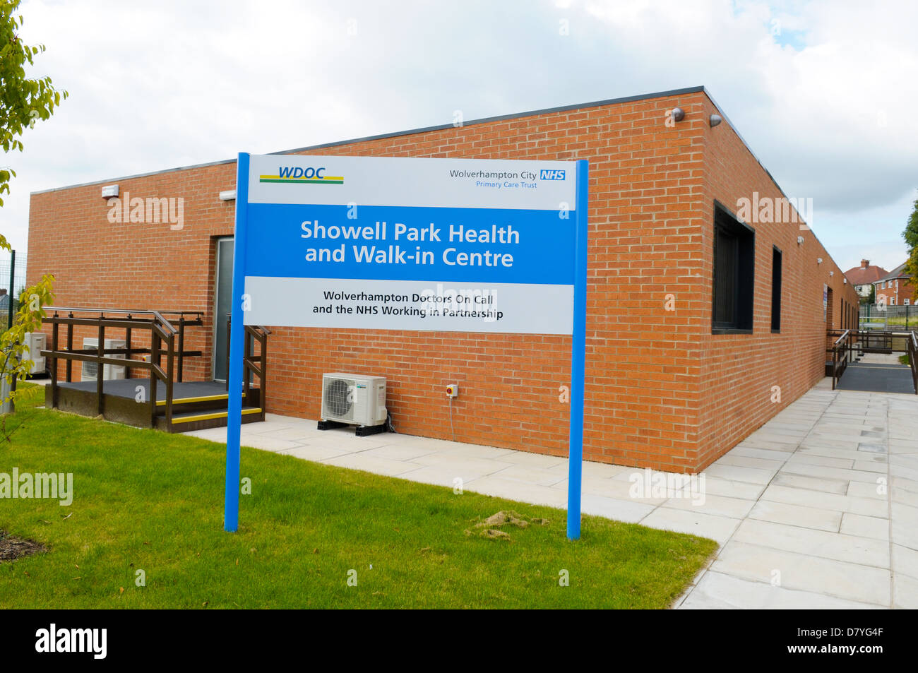 Showell Park Health and Walk-in Centre, Wolverhampton Stock Photo