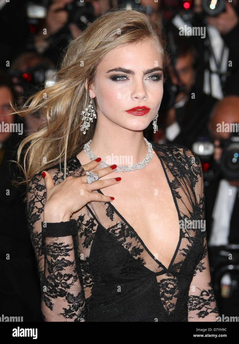 Cara Delevingne The Great Gatsby Premiere Opening Night