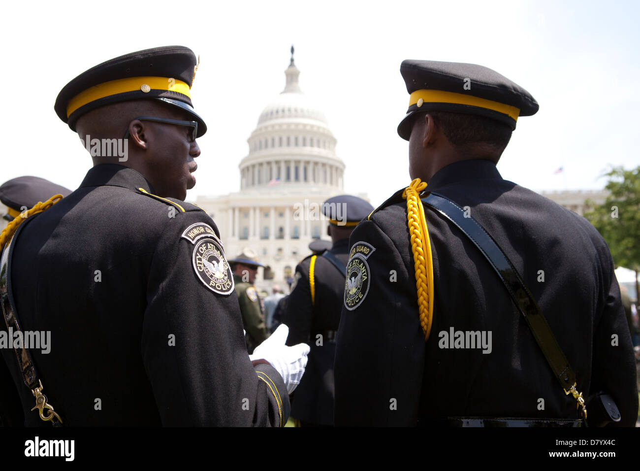Atlanta police (Atlanta Georgia) at Police Week 2013 - Washington, DC USA - Stock Image