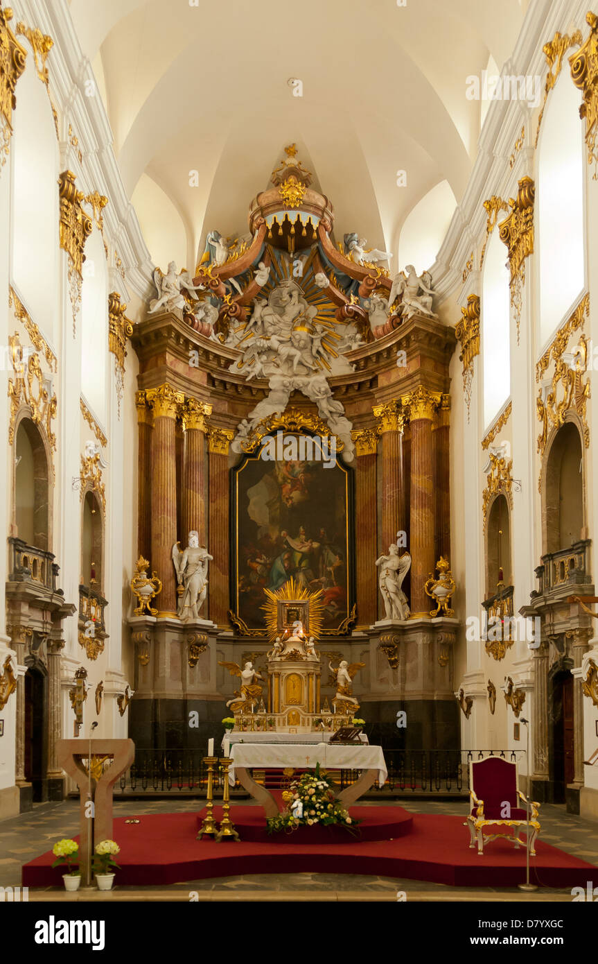 Pilgrimage Church of the Purification of the Virgin Mary, Dub nad Moravou - Stock Image