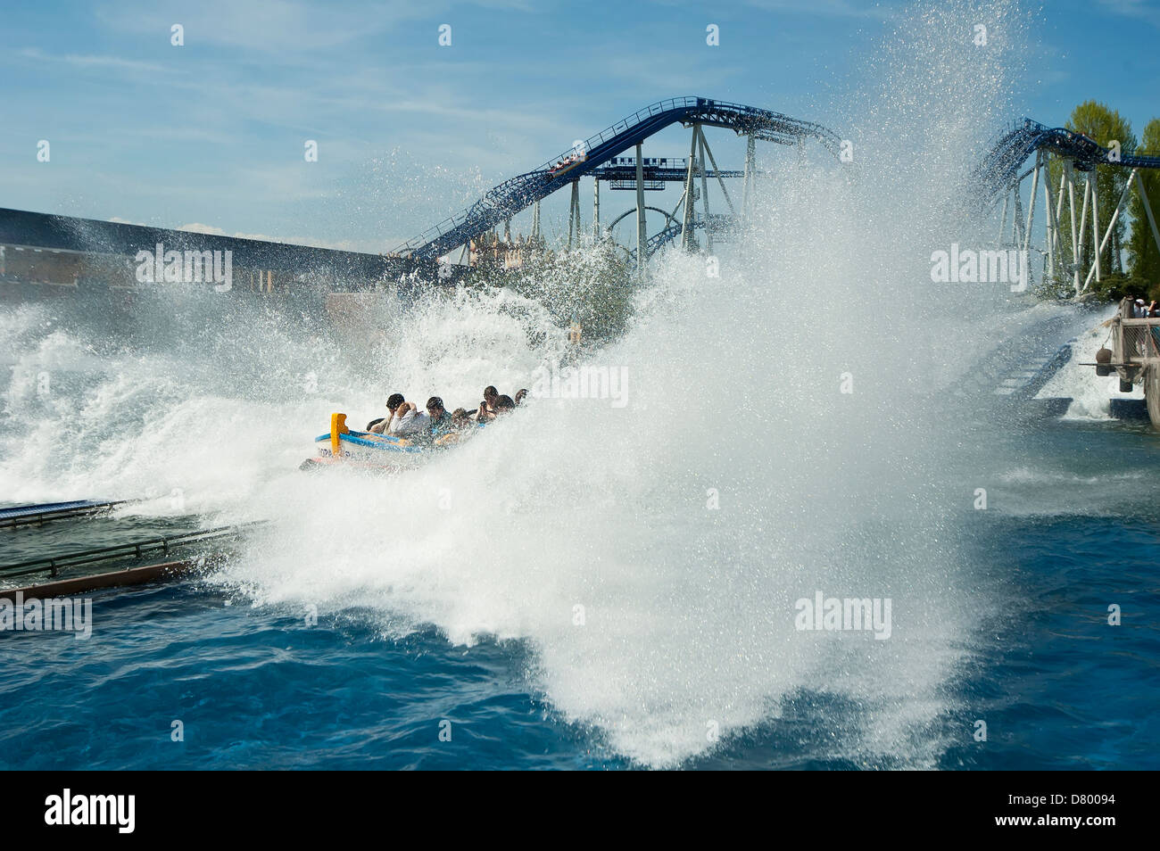 Europa park Tourist attraction in Germany - Stock Image