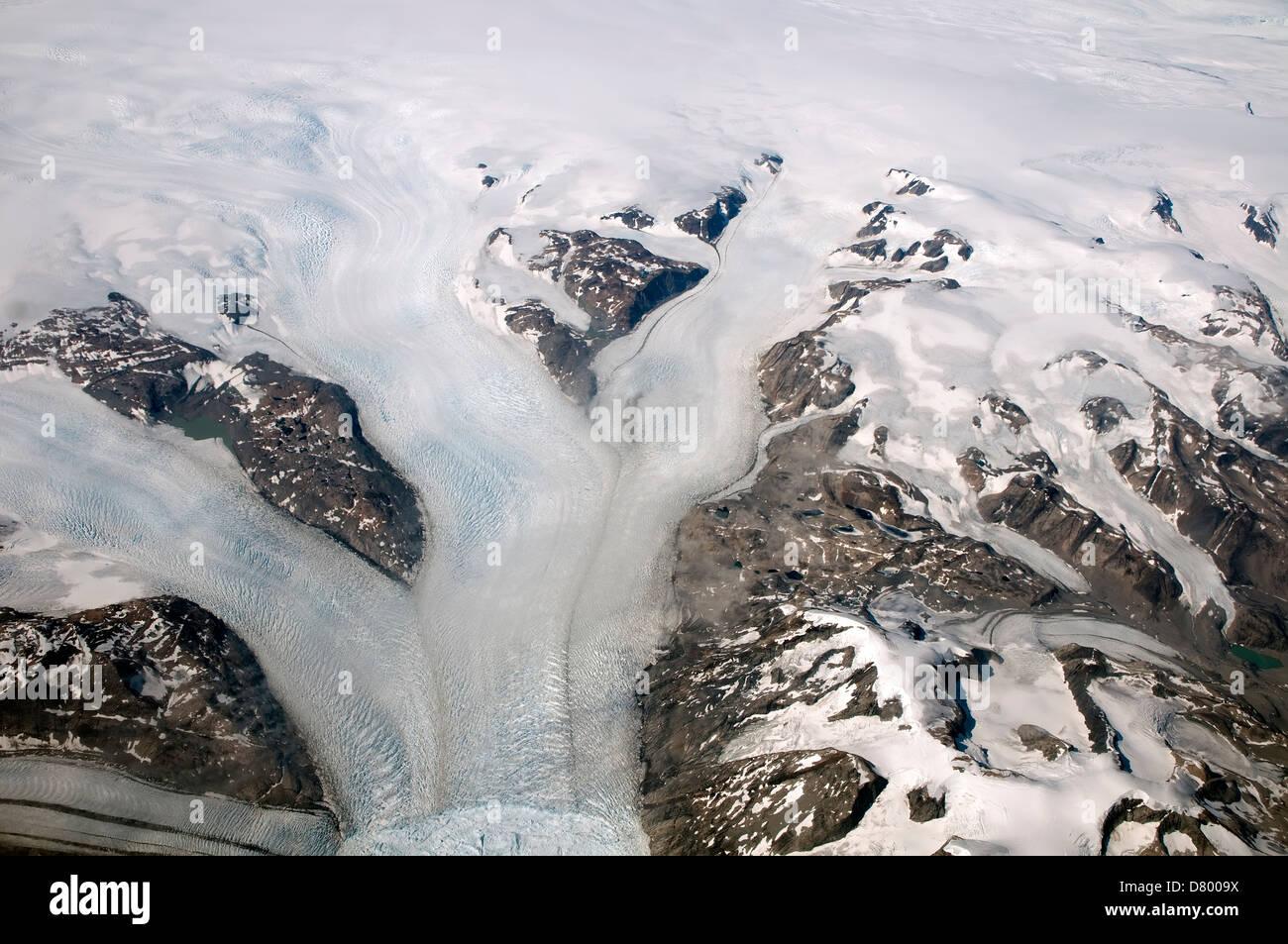 Greenland Glaciers - Stock Image