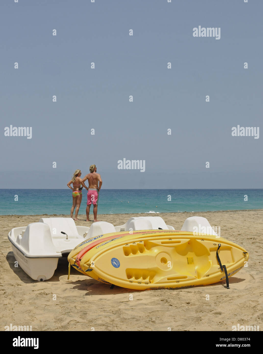 Ponta Preta beach Santa Maria Sal Cape Verde Stock Photo