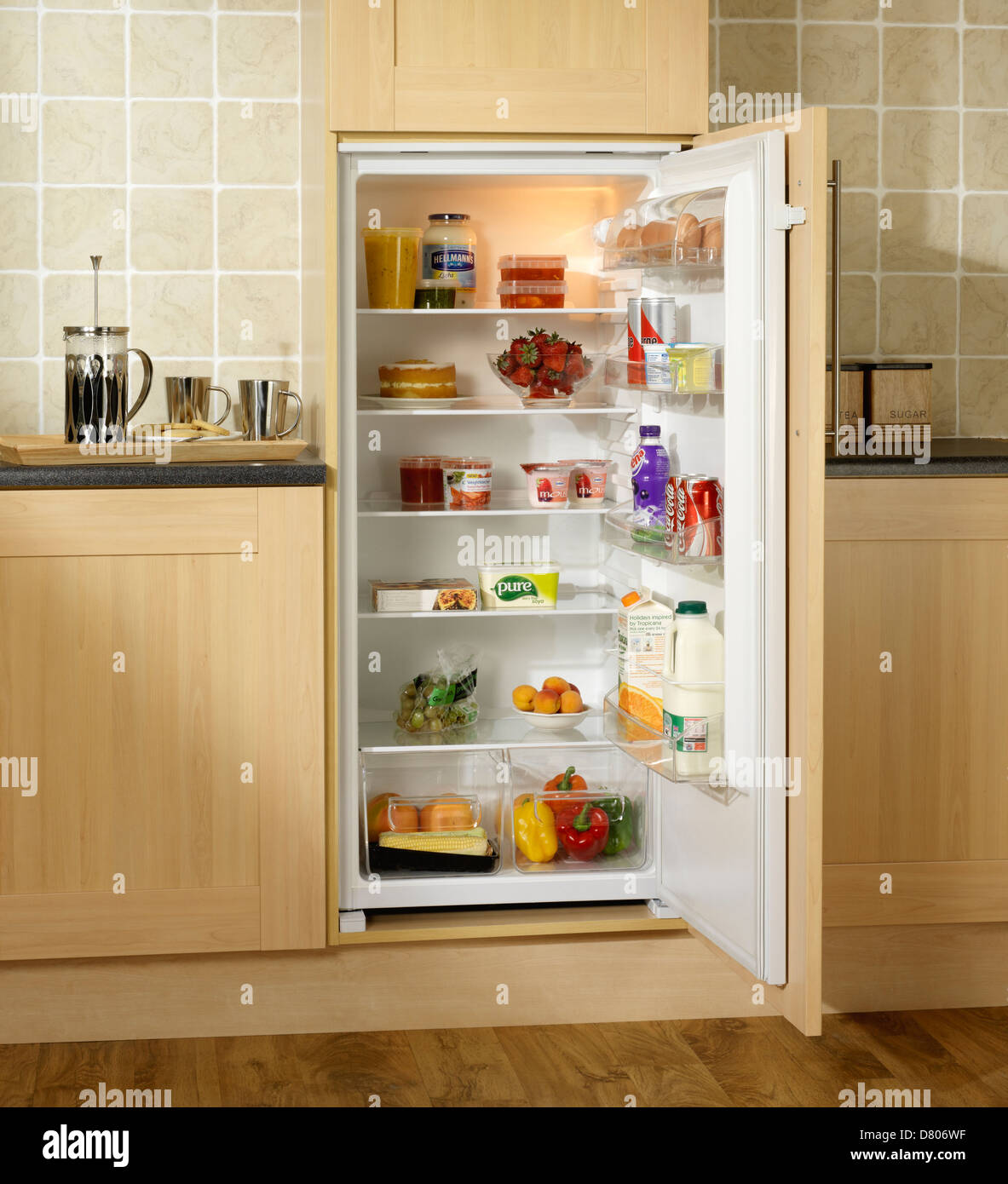 Small Kitchen Top Fridge
