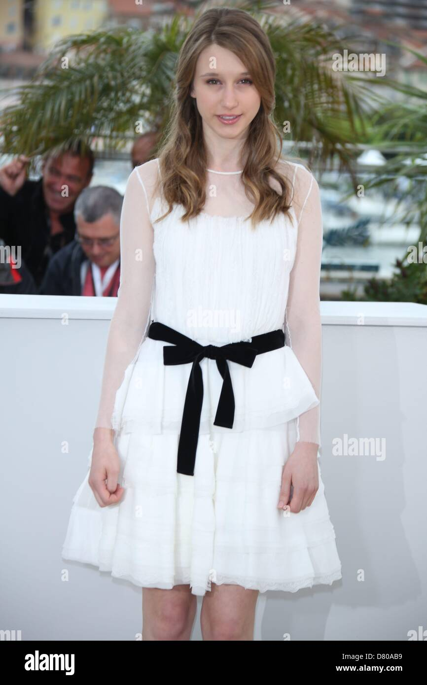 Cannes, France. 16th May 2013. US actress Taissa Farmiga poses during the photocall for 'The Bling Ring' - Stock Image