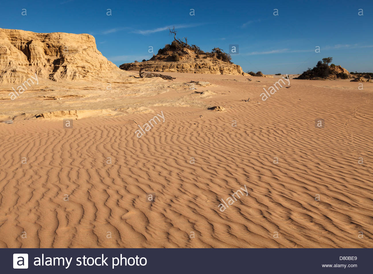 On The Great Wall Of China Mungo National Park Outback New South