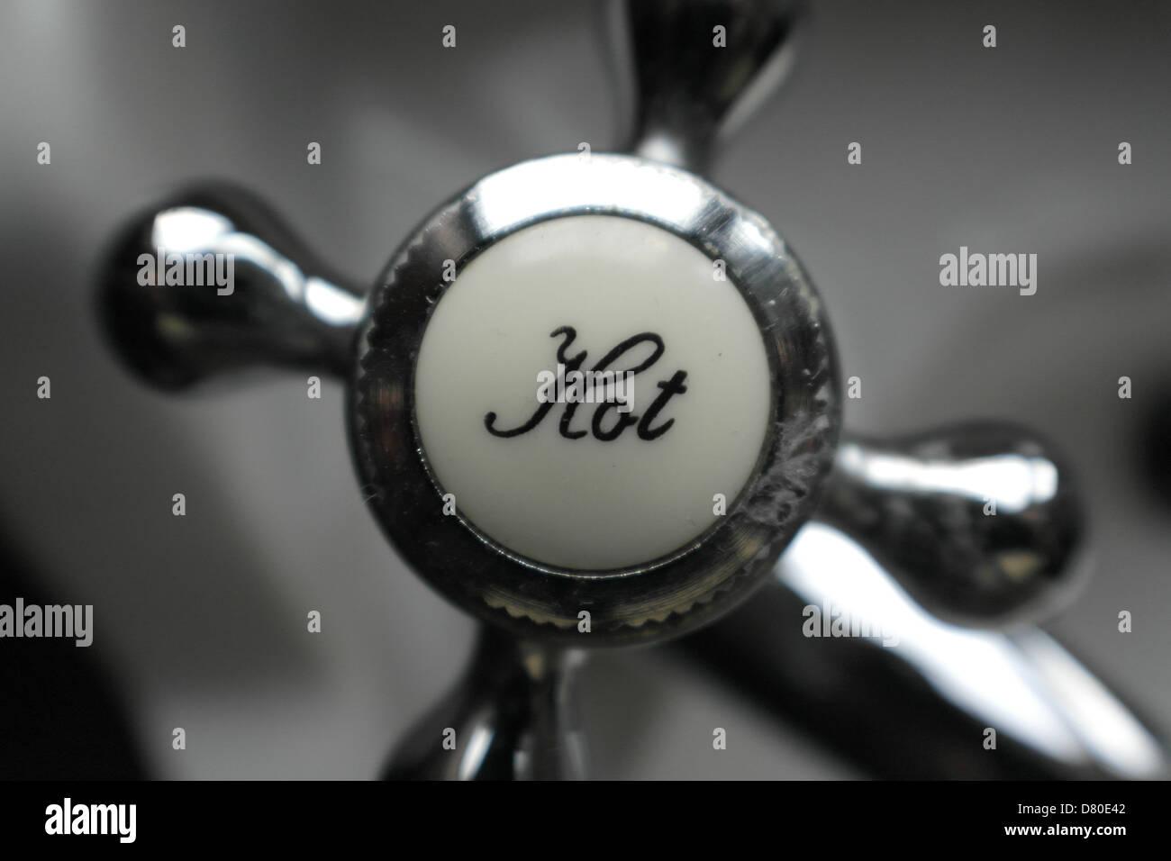 Hot tap - Stock Image