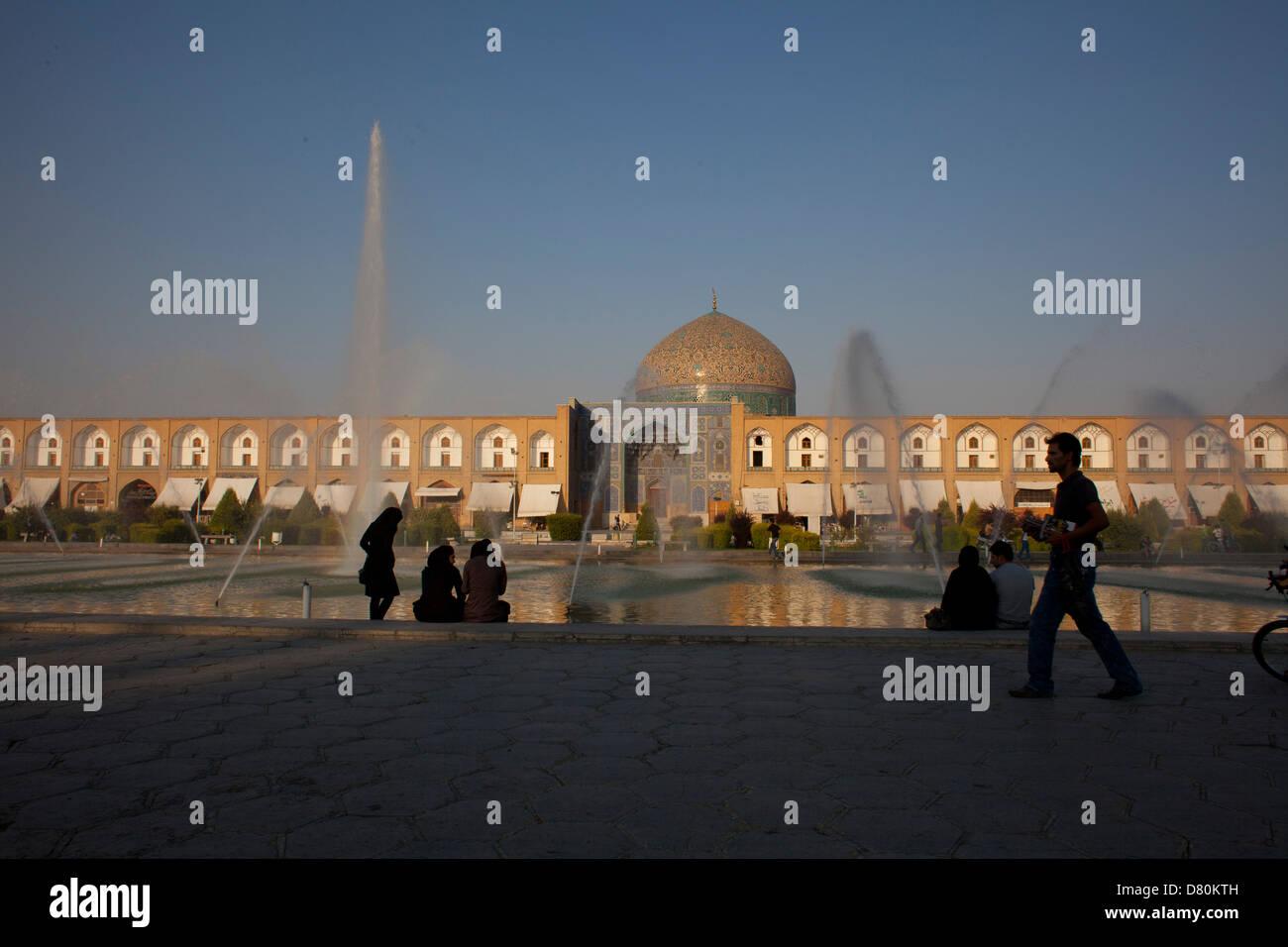 Naqsh-e Jahan square, Iran. - Stock Image