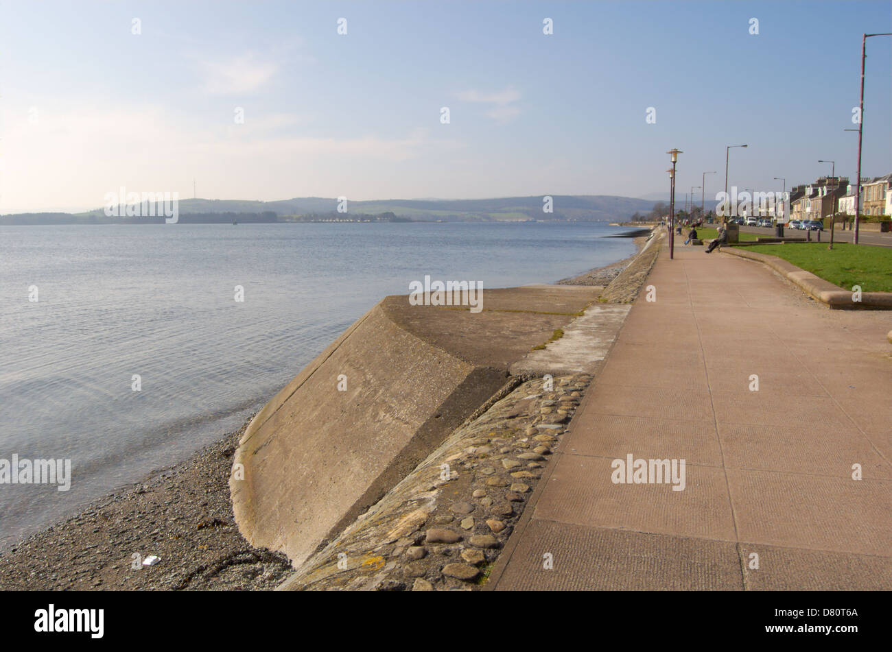 Waterfront at Helensburgh on the Gareloch - Stock Image