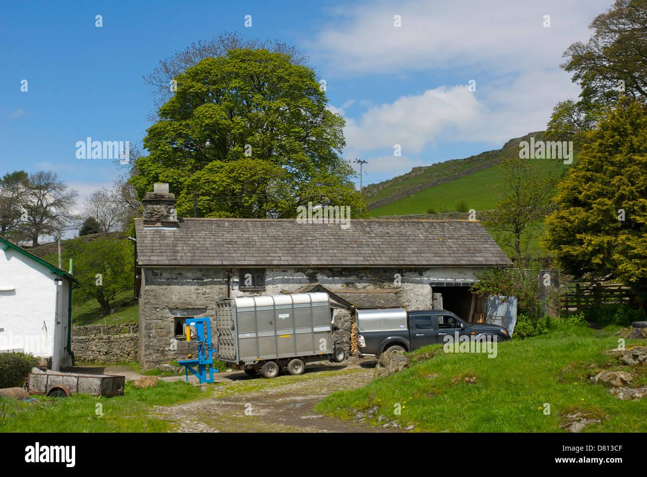 Far Orrest Farm, near Windermere, Lake District National Park, Cumbria England U - Stock Image