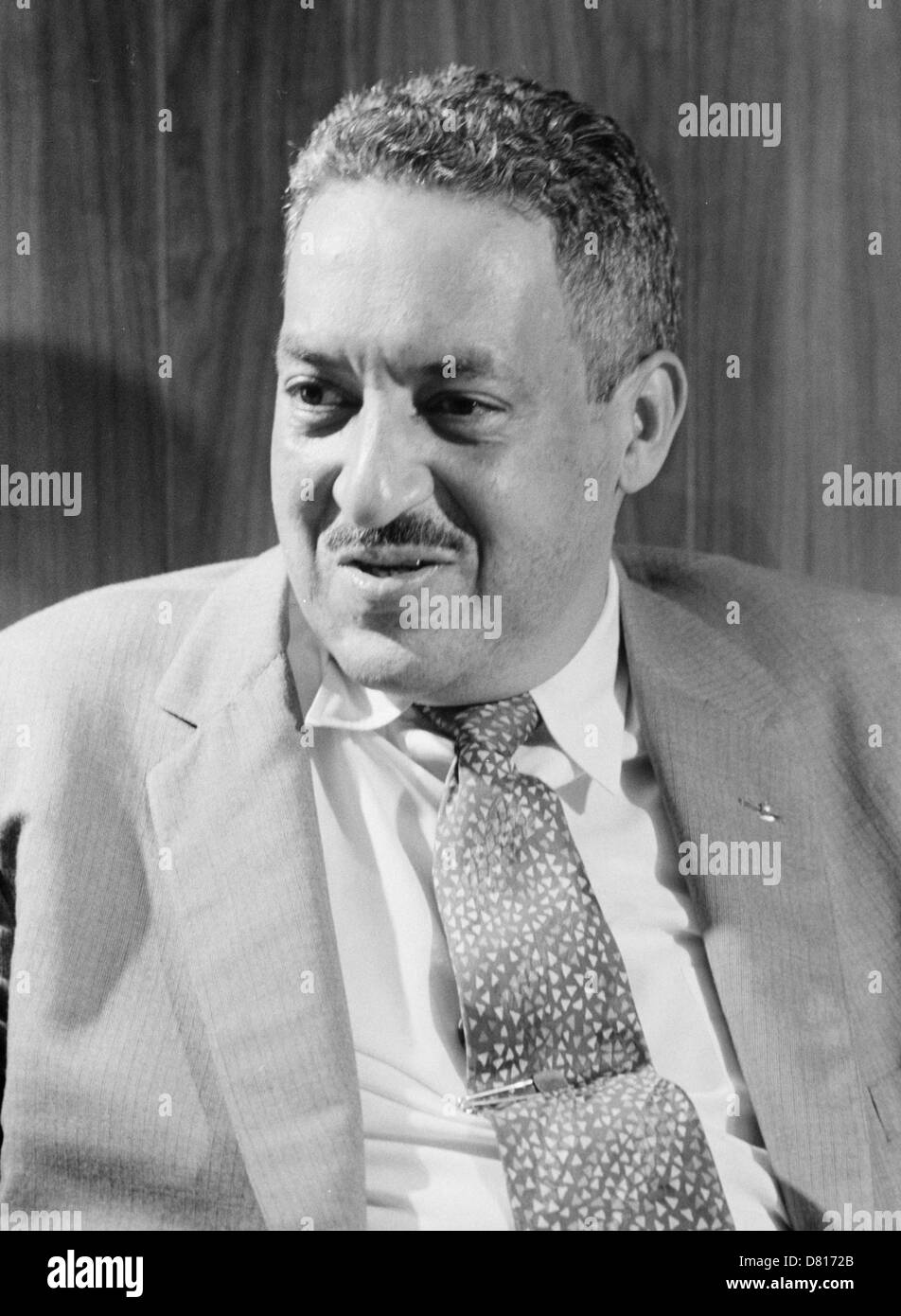 Thurgood Marshall, Associate Justice of the United States Supreme Court - Stock Image