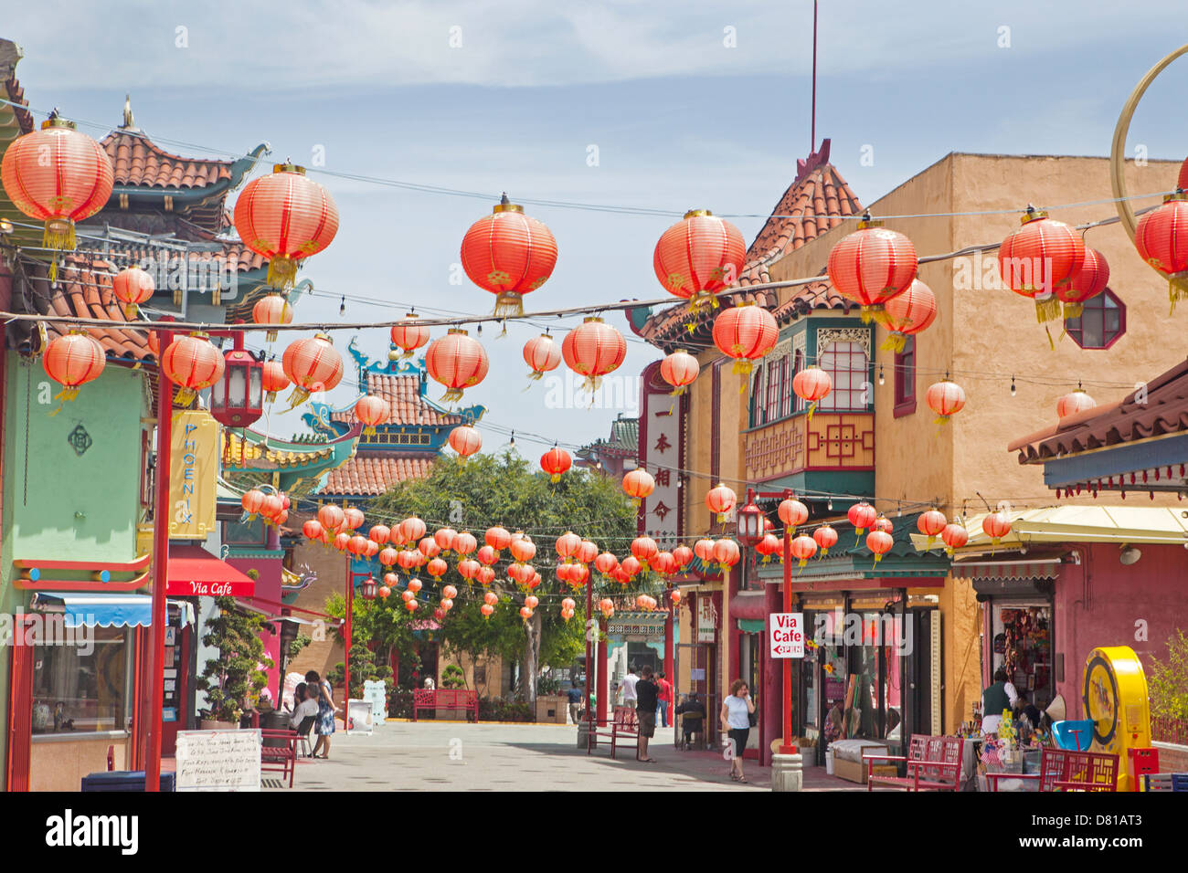 chinese lanterns in chinatown los angeles california. Black Bedroom Furniture Sets. Home Design Ideas