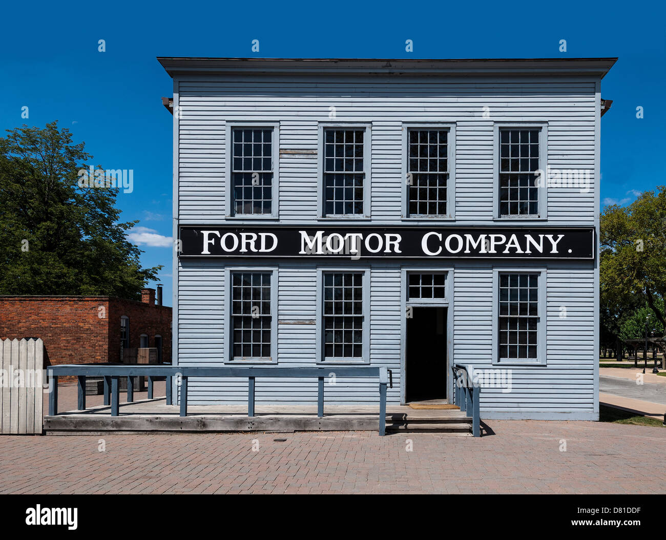 Book preservation stock photos book preservation stock for The ford motor company