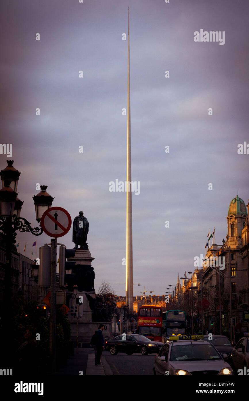 The Spire of Dublin - Stock Image