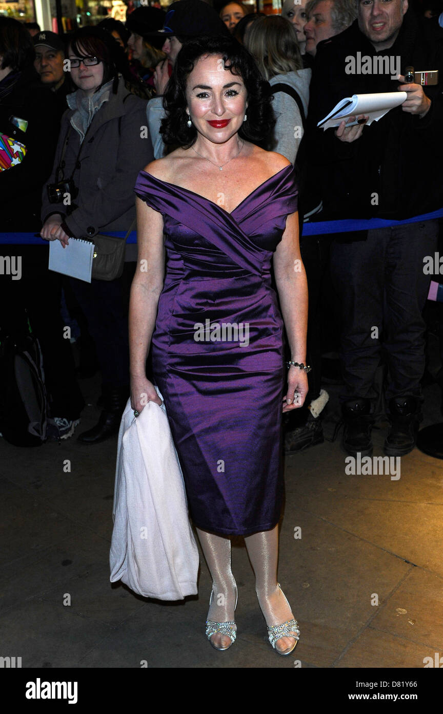 Samantha Spiro Whatsonstage Com Awards Concert Held At The Prince Of Stock Photo Alamy