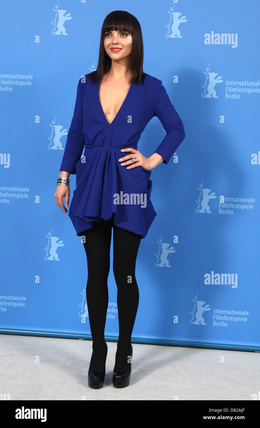 Christina Ricci The 62nd annual Berlin International Film Festival (Berlinale) - 'Bel Ami' - Photocall Berlin, - Stock Image