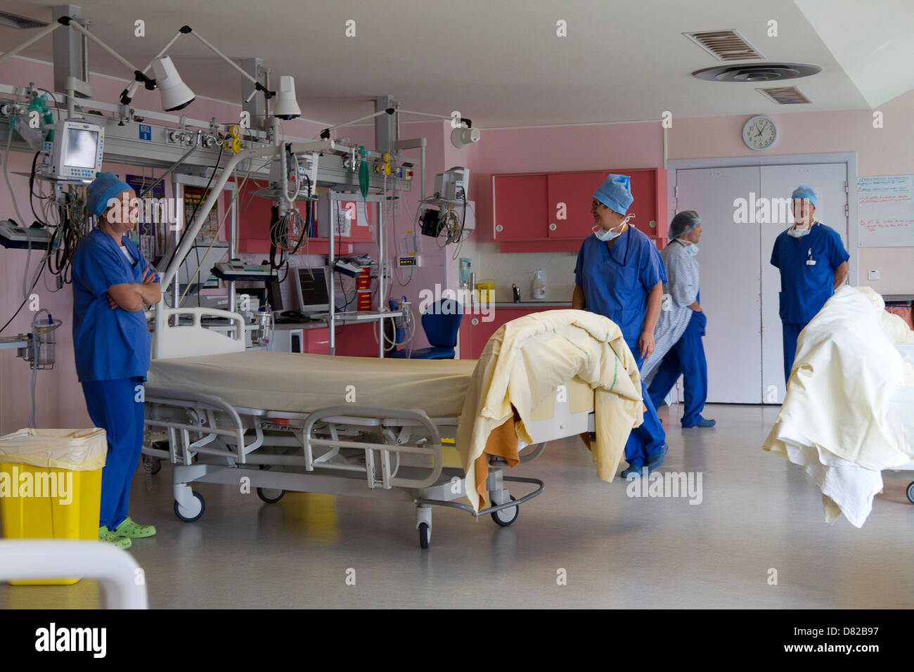 recovery room - Stock Image