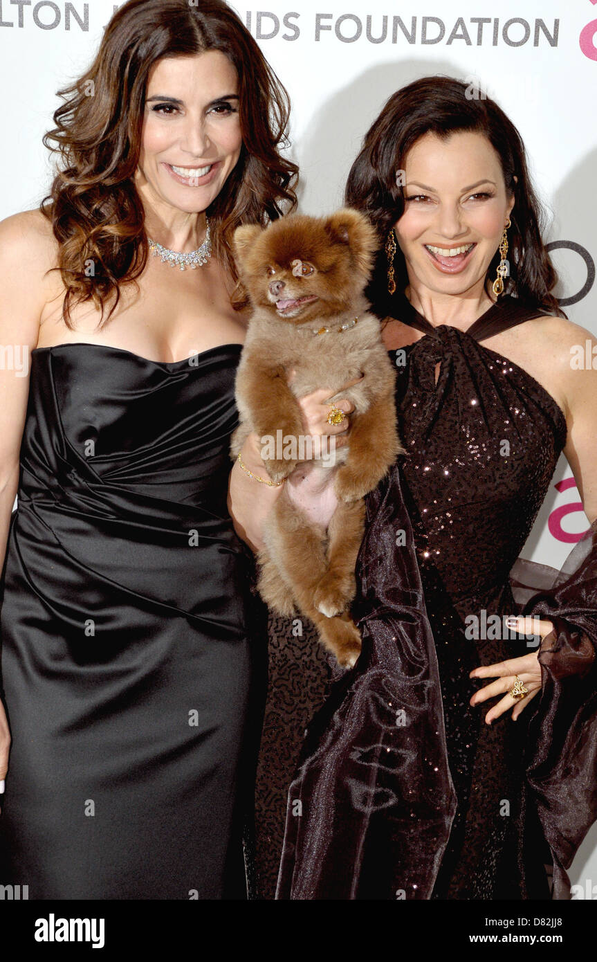 jo champa and fran drescher the 20th annual elton john aids stock