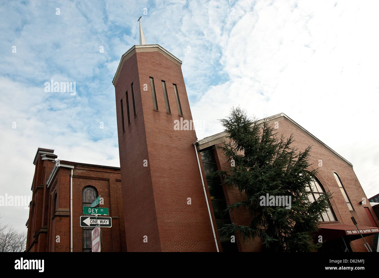 General View Of New Hope Baptist Church Ahead Of The Funeral Of Stock Photo Alamy