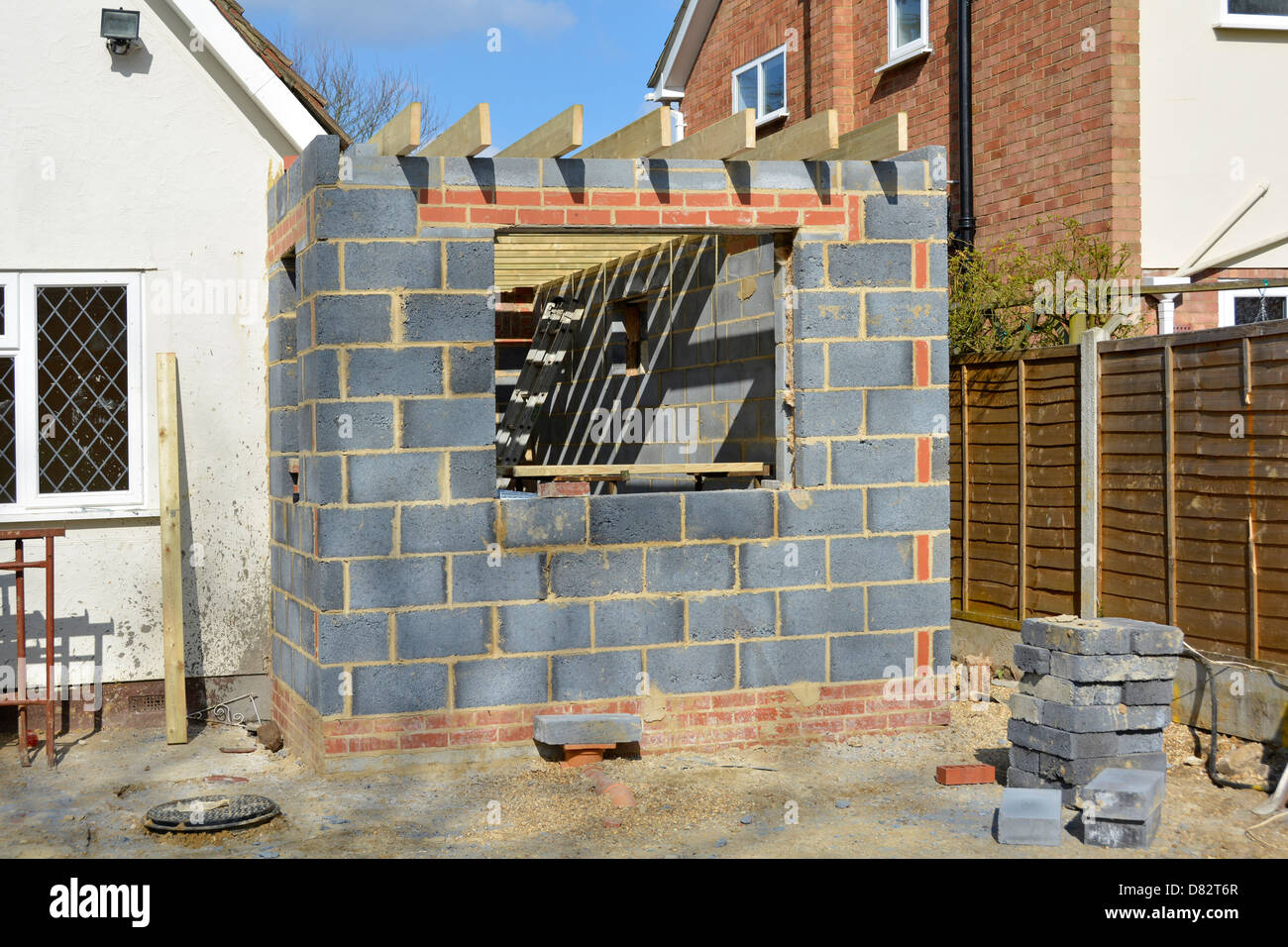 House Extension Stock Photos House Extension Stock Images Alamy
