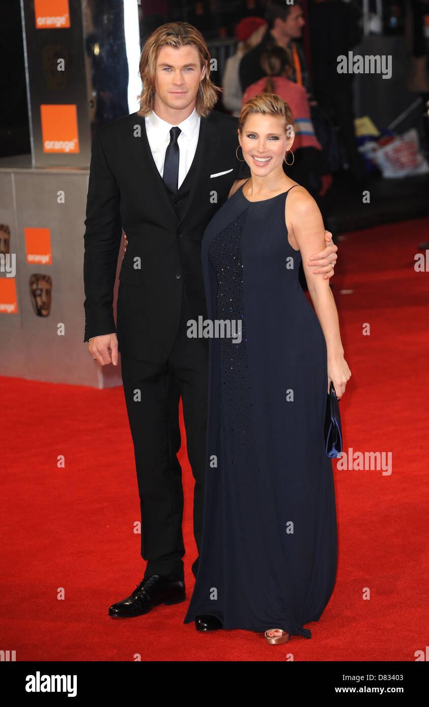 https www alamy com stock photo elsa pataky and chris hemsworth arriving at the british academy film 56617347 html