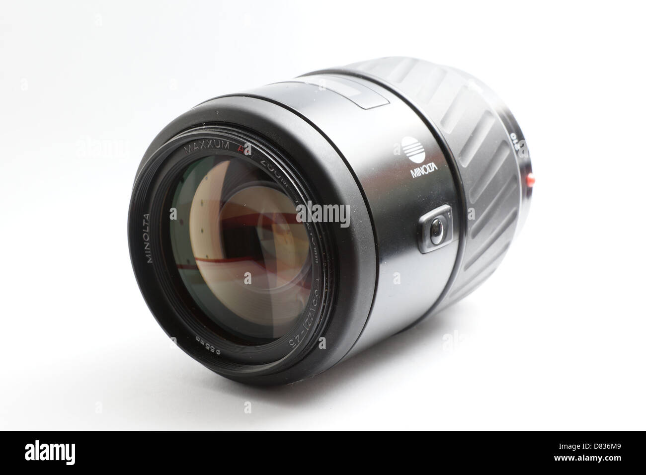 Camera lens for Minolta Maxxum, 70-210mm f3.5-4.5 zoom - Stock Image
