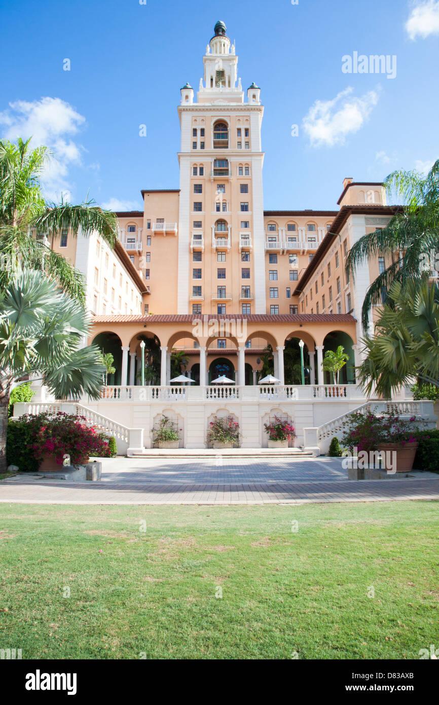 The Biltmore Hotel Miami Coral Gables, FL Stock Photo