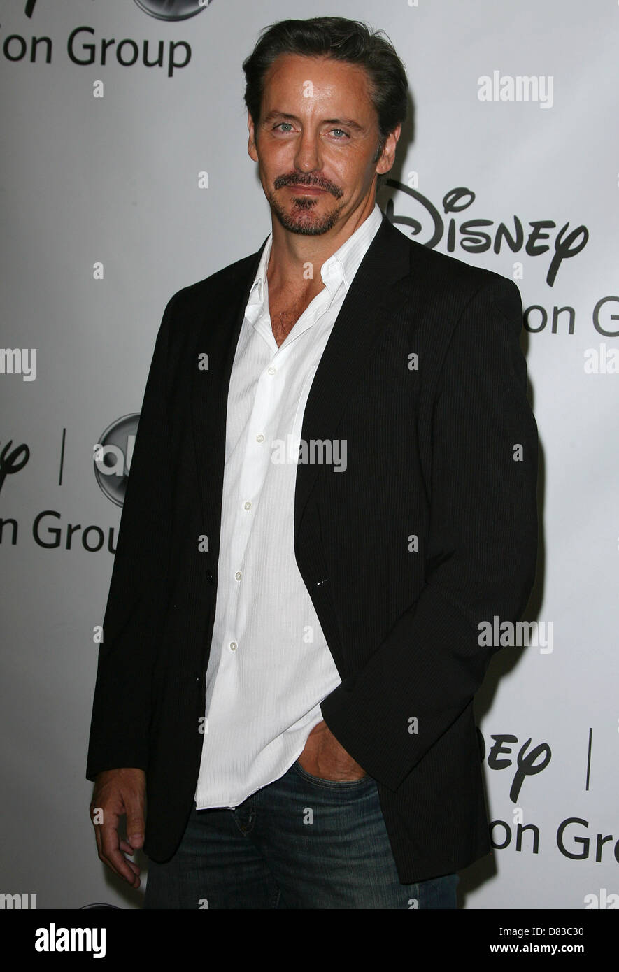 Charles Mesure Disney Abc Television Group Host Summer Press Tour Stock Photo Alamy