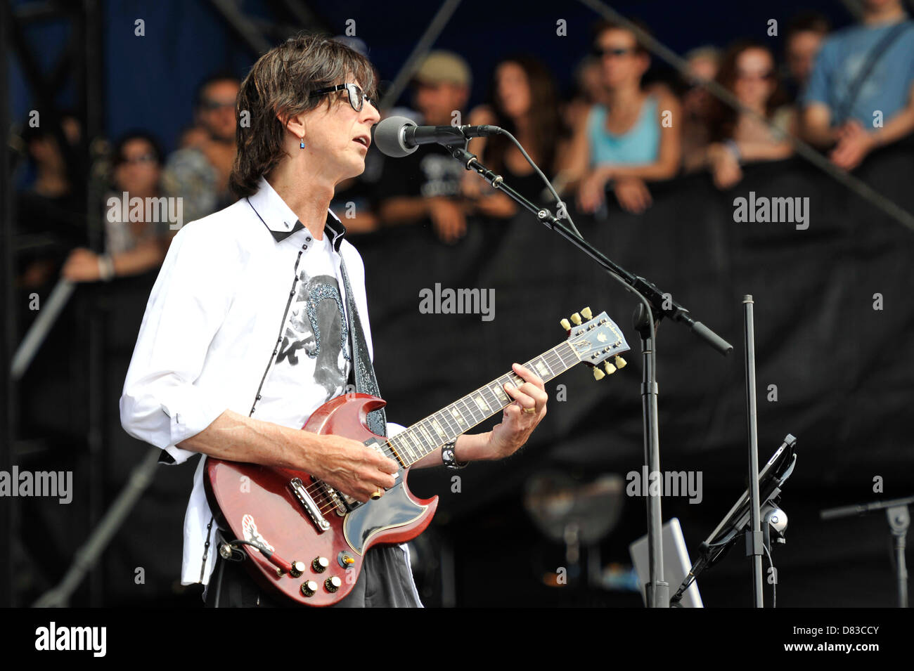 The Cars Lollapalooza Music Festival 2011 - Performances - Day 3 Chicago, Illinois - 07.08.11 - Stock Image