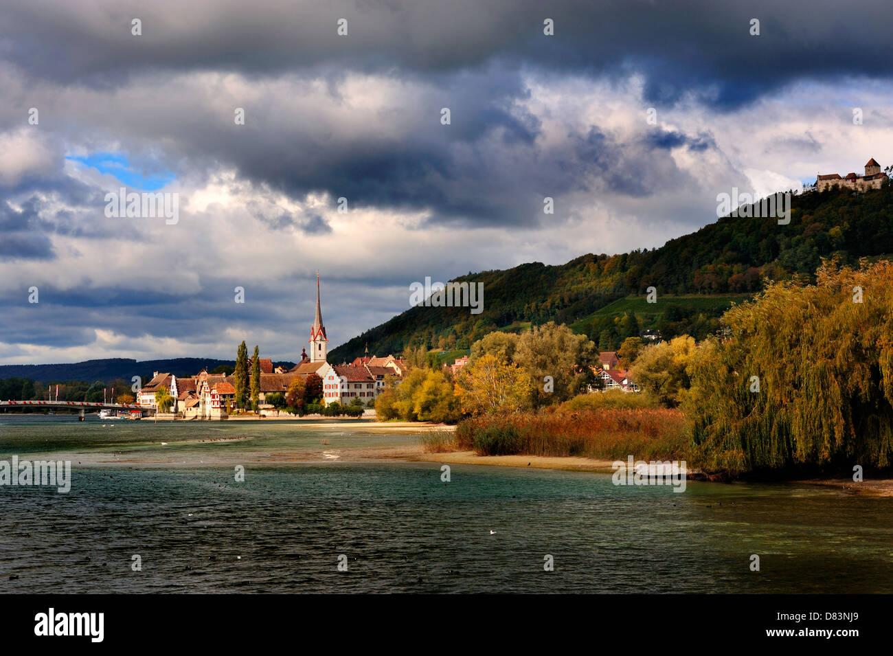 Stein-Am-Rhein (Switzerland) Stock Photo