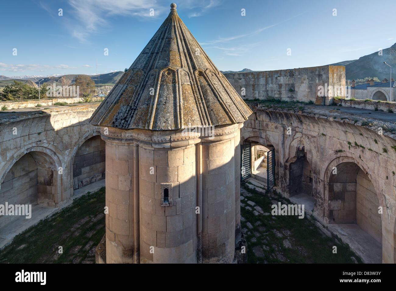 tomb of Mama Hatun, Tercan, Turkey - Stock Image