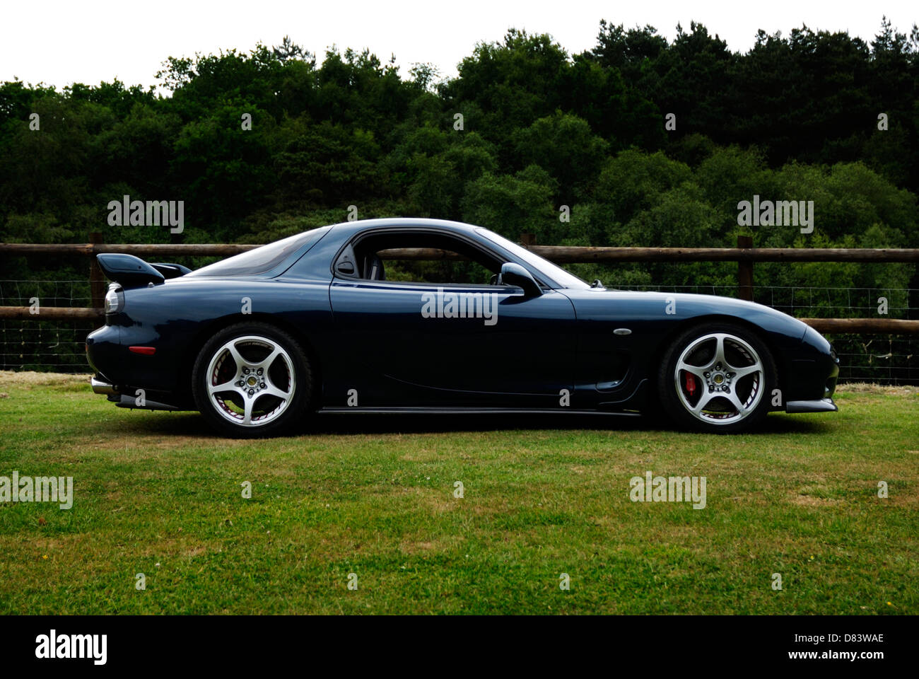 Mazda FD RX 7 Sports Car, Playboyu0027s Car Of The Year For 1993, 13B Wankel  Rotary Engine.