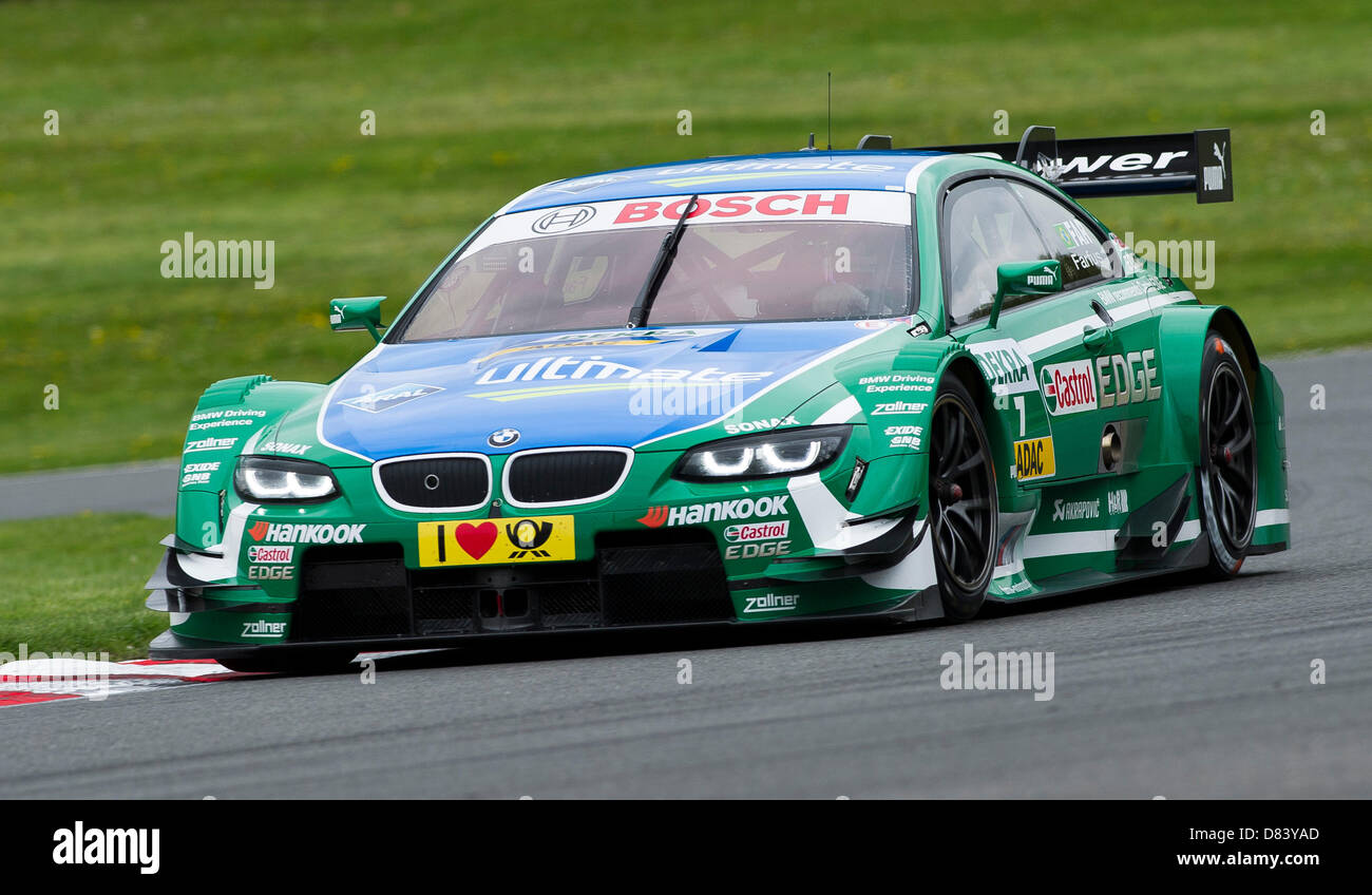 Brands Hatch Uk Th May  Augusto Farfus Bra Driving The