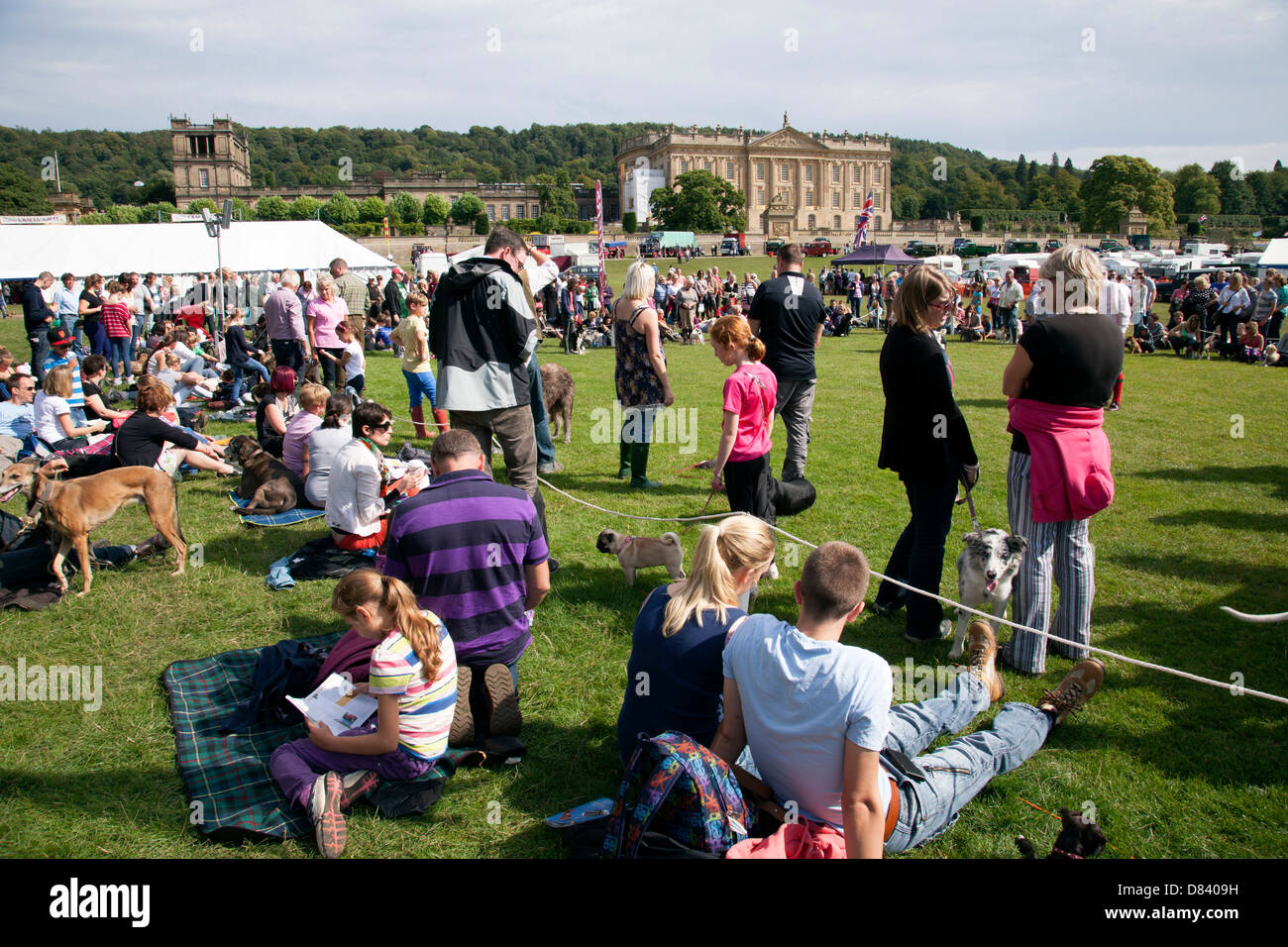 The Chatsworth Game Fair, Derbyshire, England, U.K. - Stock Image