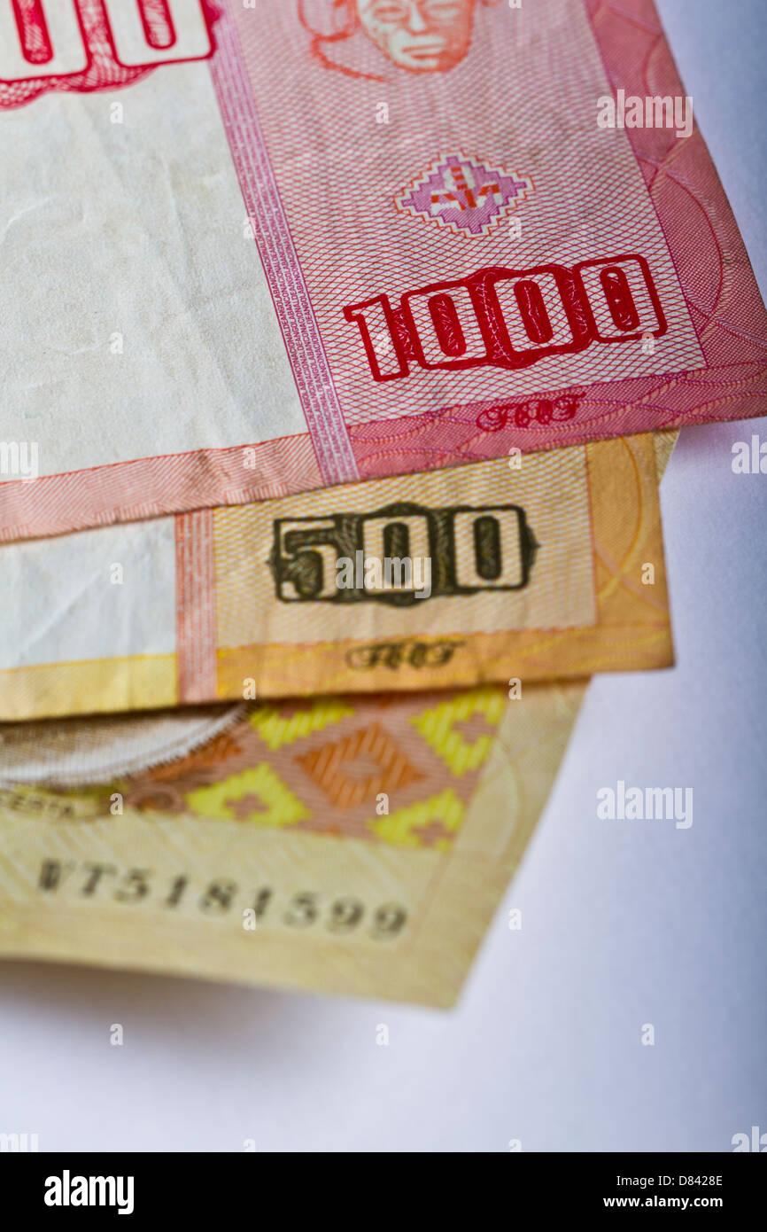 Angola banknotes - Stock Image