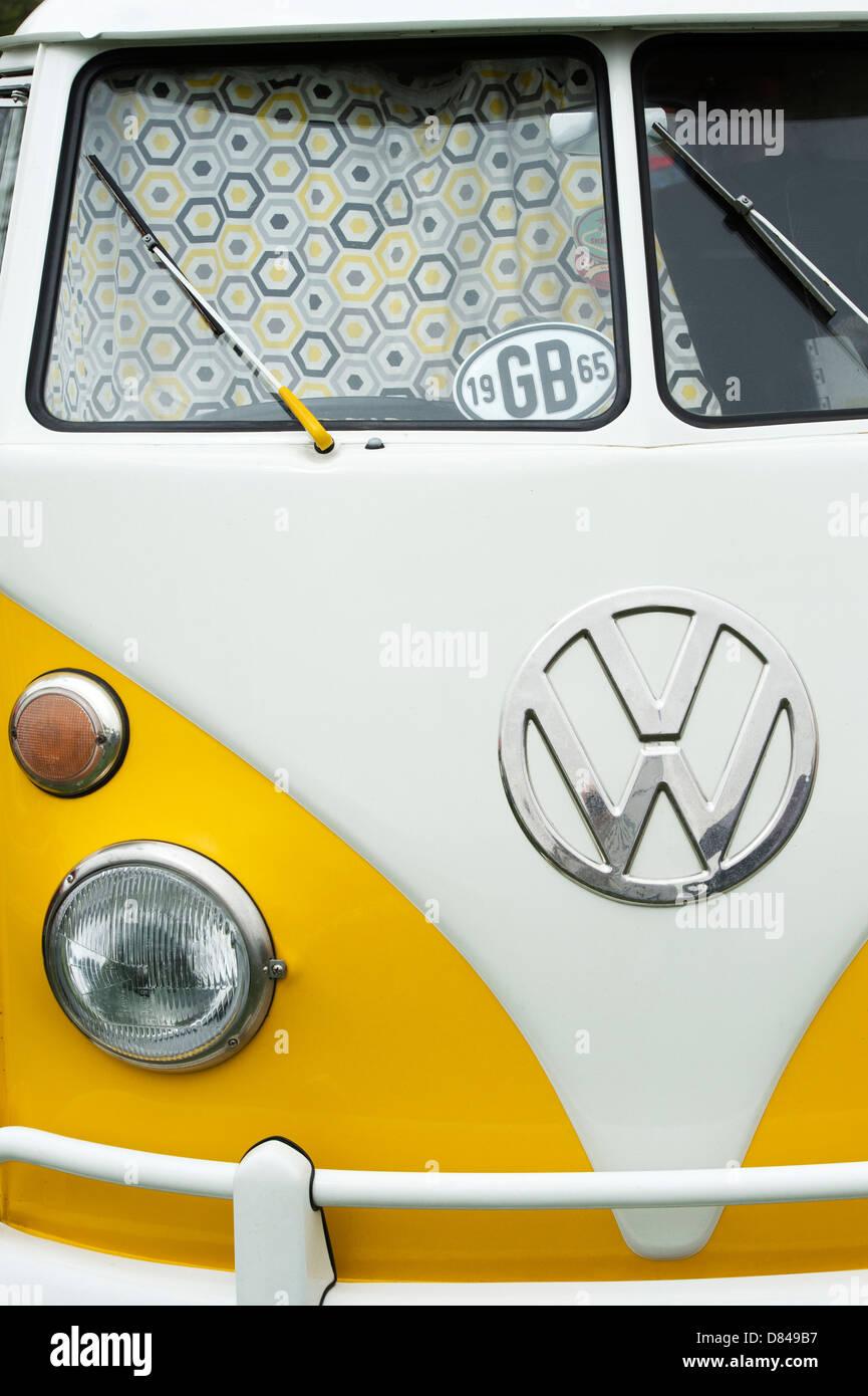 1965 VW Split Screen Volkswagen camper van - Stock Image